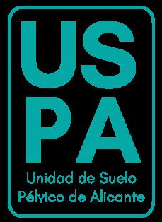 Logo USPA Unidad de suelo pelvico Alicante